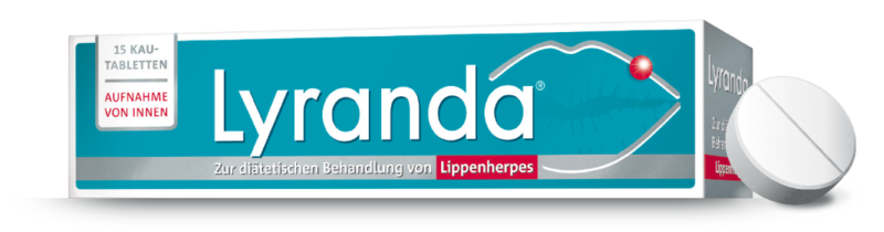 Lyranda Lippenherpes